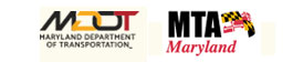 MTA logo and MDOT logo